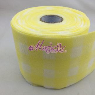 Безворсовые салфетки рулон 18 метров yellow