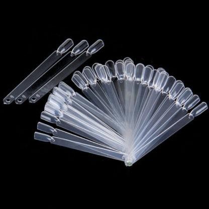 палитра для лаков веер на оси, 50 типсов