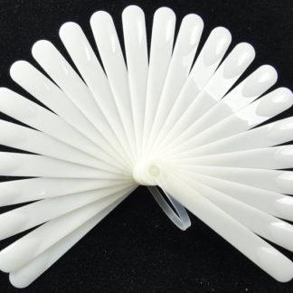 Дисплей для лаков на оси на 20 цветов (белый)
