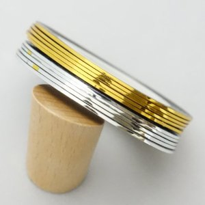 Лента для дизайна ногтей золотая