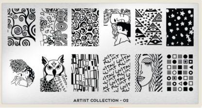 Пластина для стемпинга MoYou London (Artist Collection-02)