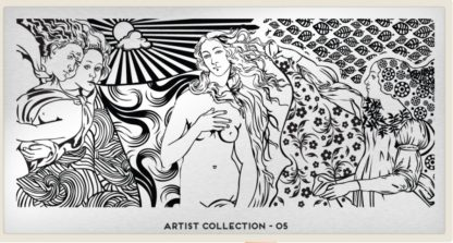 Пластина для стемпинга MoYou London (Artist Collection-05)