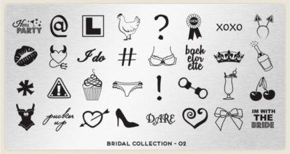 Пластина для стемпинга MoYou London (Bridal Collection-02)