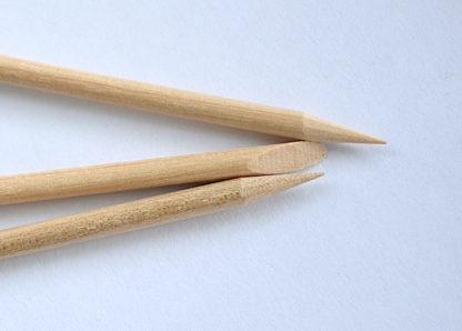 Апельсиновая палочка для маникюра 7,5 см. короткая