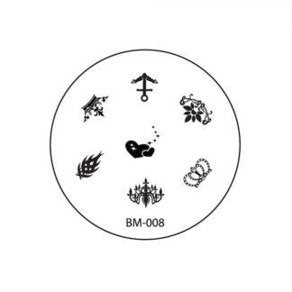 Диск для стемпинга Bundle Monster (BM-008)