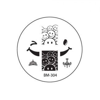 Диск для стемпинга Bundle Monster (BM-304)
