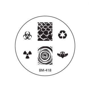 Диск для стемпинга Bundle Monster (BM-418)