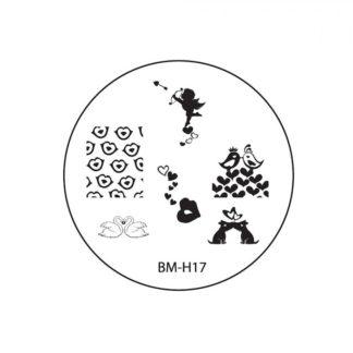 Диск для стемпинга Bundle Monster (BM-H17)