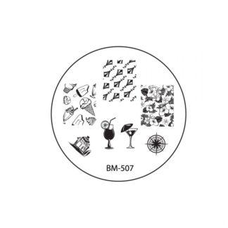Диск для стемпинга Bundle Monster USA «Sun Kissed» BM-507