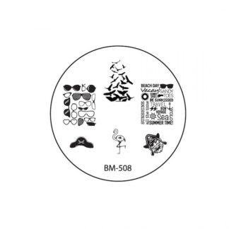 Диск для стемпинга Bundle Monster USA «Sun Kissed» BM-508