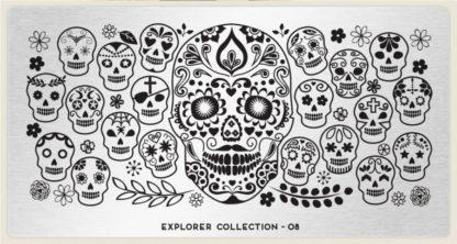 Пластина для стемпинга MoYou London (Explorer Collection-08)