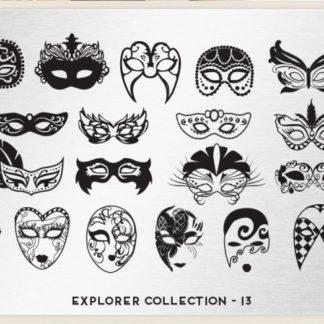 Пластина для стемпинга MoYou London (Explorer Collection-13)
