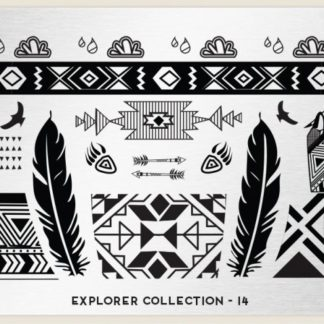 Пластина для стемпинга MoYou London (Explorer Collection-14)