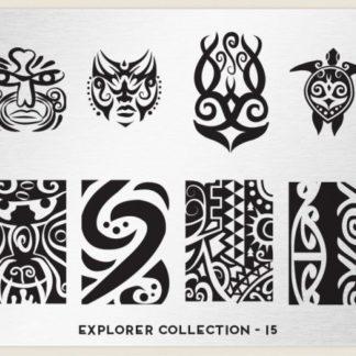 Пластина для стемпинга MoYou London (Explorer Collection-15)