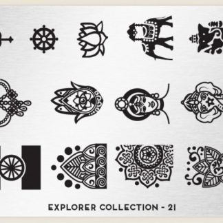 Пластина для стемпинга MoYou London (Explorer Collection-21)