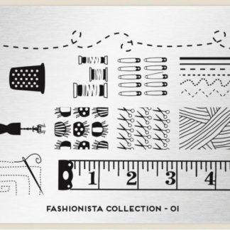 Пластина для стемпинга MoYou London (Fashionista Collection-01)