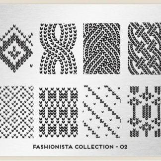 Пластина для стемпинга MoYou London (Fashionista Collection-02)