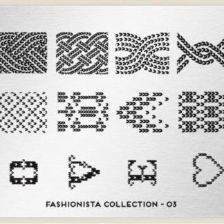 Пластина для стемпинга MoYou London (Fashionista Collection-03)