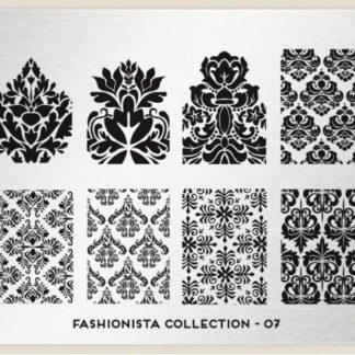Пластина для стемпинга MoYou London (Fashionista Collection-07)