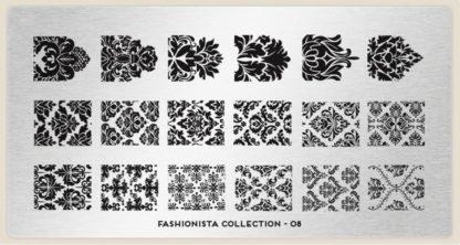 Пластина для стемпинга MoYou London (Fashionista Collection-08)