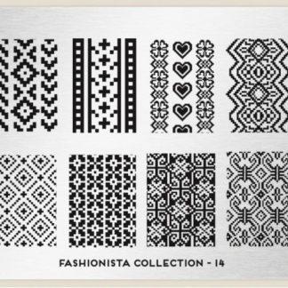 Пластина для стемпинга MoYou London (Fashionista Collection-14)