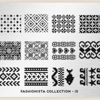 Пластина для стемпинга MoYou London (Fashionista Collection-15)