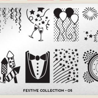 Пластина для стемпинга MoYou London (Festive Collection-05)