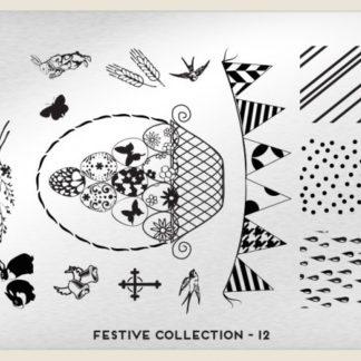 Пластина для стемпинга MoYou London (Festive Collection-12)