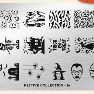 Пластина для стемпинга MoYou London (Festive Collection-16)