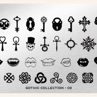 Пластина для стемпинга MoYou London (Gothic Collection-02)