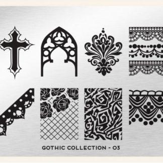 Пластина для стемпинга MoYou London (Gothic Collection-03)