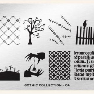 Пластина для стемпинга MoYou London (Gothic Collection-04)