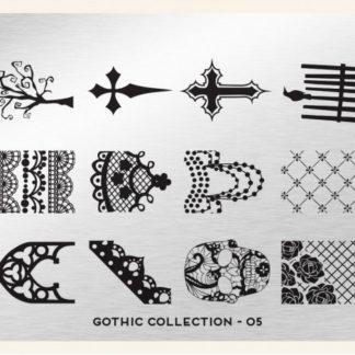 Пластина для стемпинга MoYou London (Gothic Collection-05)