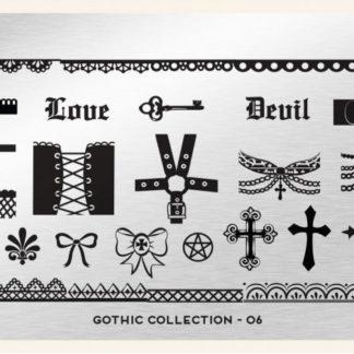 Пластина для стемпинга MoYou London (Gothic Collection-06)