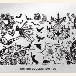 Пластина для стемпинга MoYou London (Gothic Collection-07)