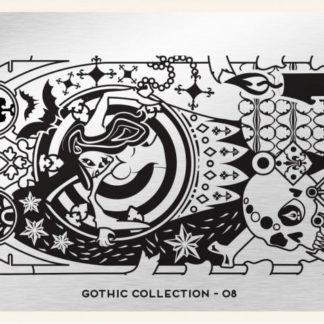 Пластина для стемпинга MoYou London (Gothic Collection-08)