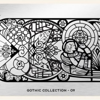 Пластина для стемпинга MoYou London (Gothic Collection-09)