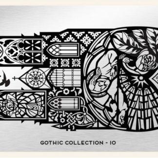 Пластина для стемпинга MoYou London (Gothic Collection-10)