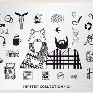 Пластина для стемпинга MoYou London (Hipster Collection-01)