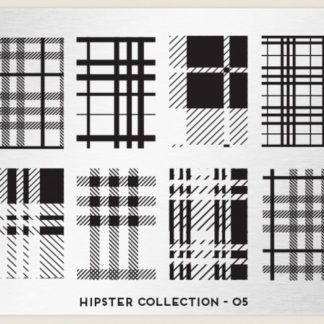 Пластина для стемпинга MoYou London (Hipster Collection-05)