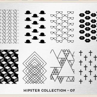 Пластина для стемпинга MoYou London (Hipster Collection-07)