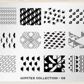 Пластина для стемпинга MoYou London (Hipster Collection-08)