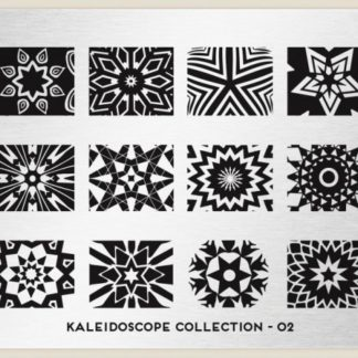 Пластина для стемпинга MoYou London (Kaleidoscope Collection-02)