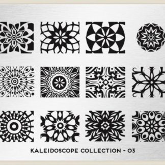 Пластина для стемпинга MoYou London (Kaleidoscope Collection-03)