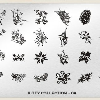 Пластина для стемпинга MoYou London (Kitty Collection-04)
