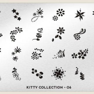 Пластина для стемпинга MoYou London (Kitty Collection-06)