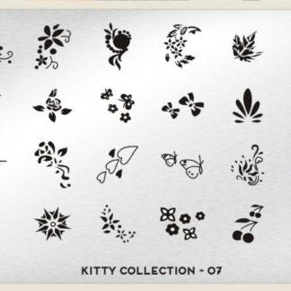 Пластина для стемпинга MoYou London (Kitty Collection-07)