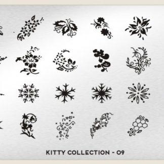 Пластина для стемпинга MoYou London (Kitty Collection-09)