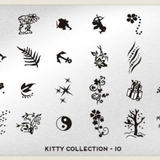 Пластина для стемпинга MoYou London (Kitty Collection-10)