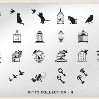 Пластина для стемпинга MoYou London (Kitty Collection-11)